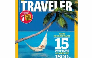 National Geographic Traveler Cover july 2013