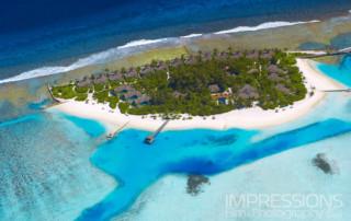 Aerial Photography Naladhu Maldives