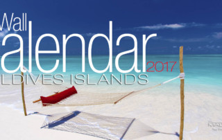 2017 Wall Calendar With Photos of The Maldives Islands