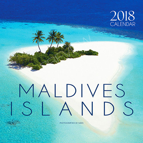 2018 Photo Calendar Maldives Islands