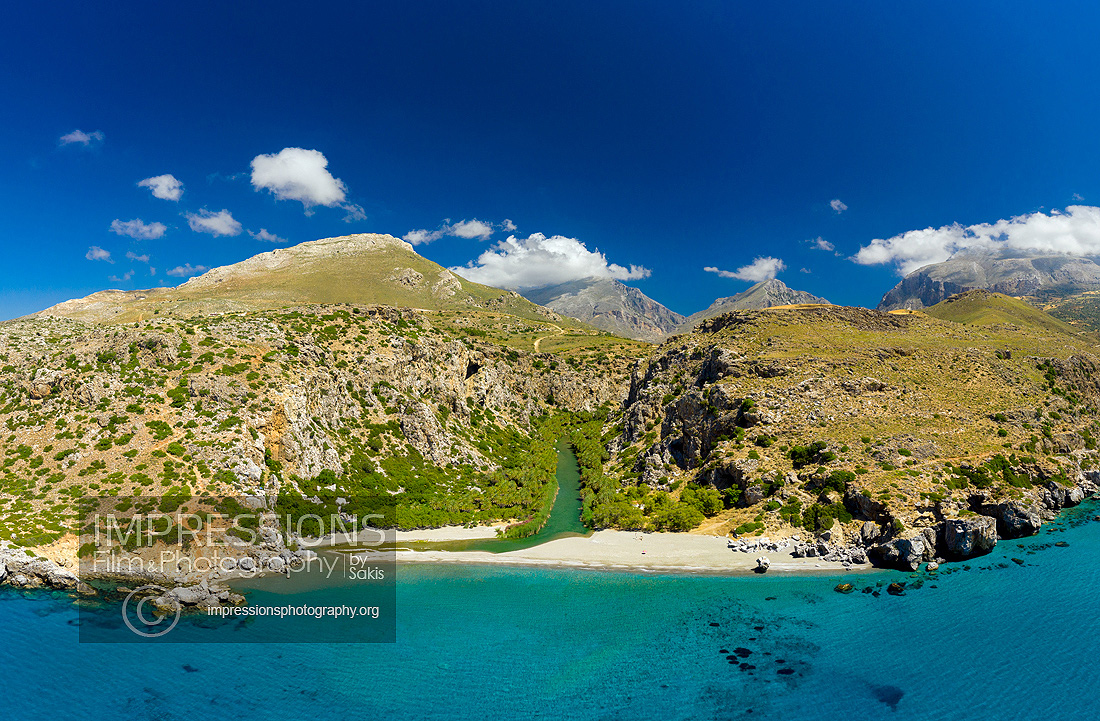 Aerial Images and Video Services Crete island Greece