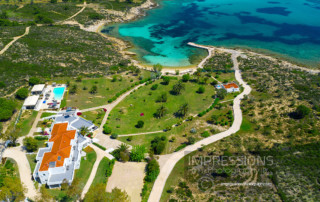 Aerial Images and Video Services for hotels and villas Greece