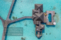 Aerial Photography resort gili lankanfushi maldives