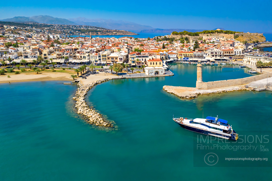 Aerial photography and video Greece