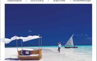 Cover Business Traveller Magazine January 2018