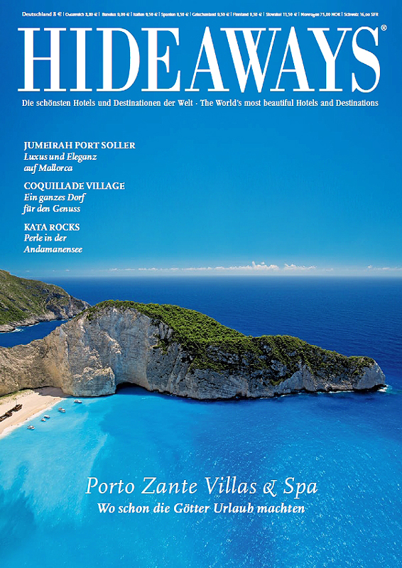 Cover Hideaways Magazine photography by Sakis Papadopoulos
