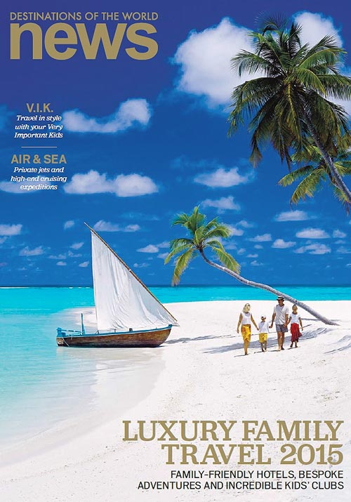 Cover Destinations of the World news magazine June 2015