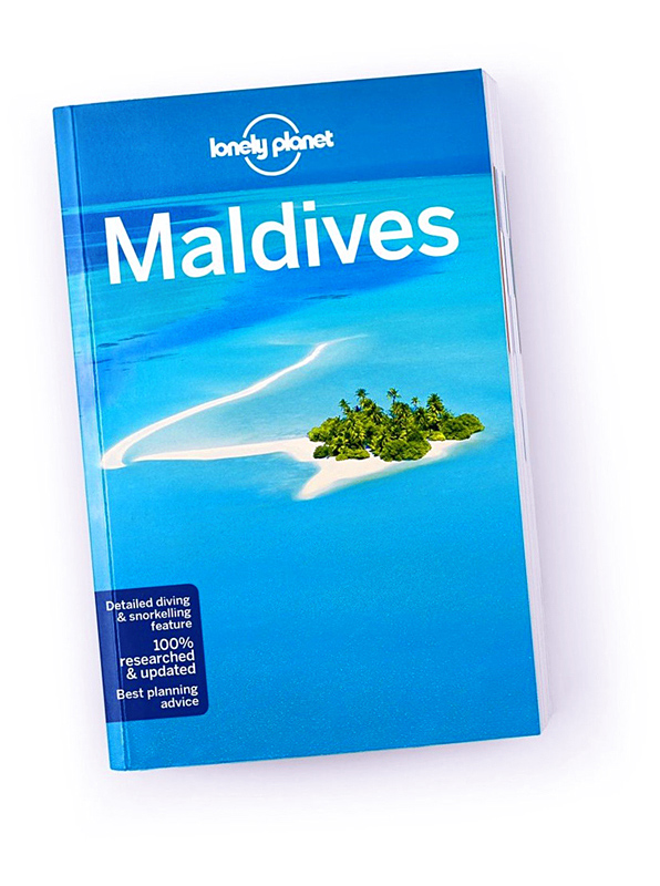 Cover lonely planet maldives 2018