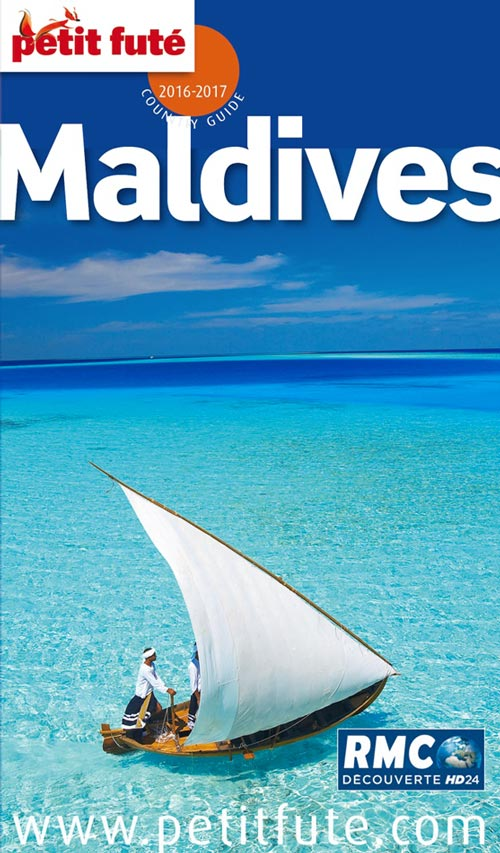 Cover photo Petit Fute Maldives guide 2016 - 2017