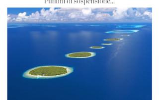 Aerial image Maldives Elle magazine photo Sakis Papadopoulos