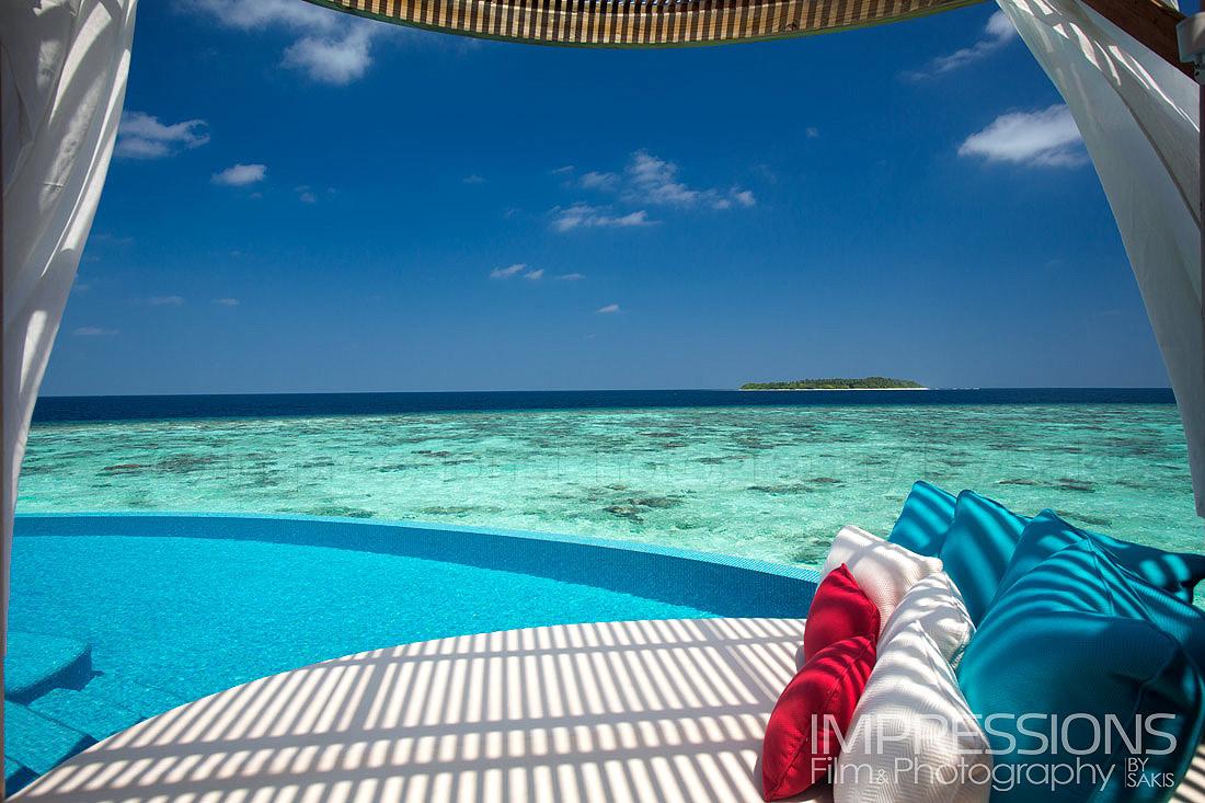 Hotel Photography Maldives. Latest Photoshooting at Milaidhoo Island