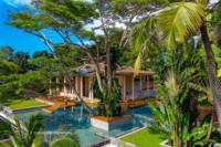Luxury Villa aerial photography