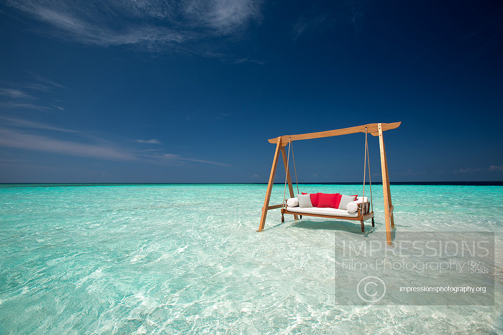Luxury hotel photography Baros Maldives
