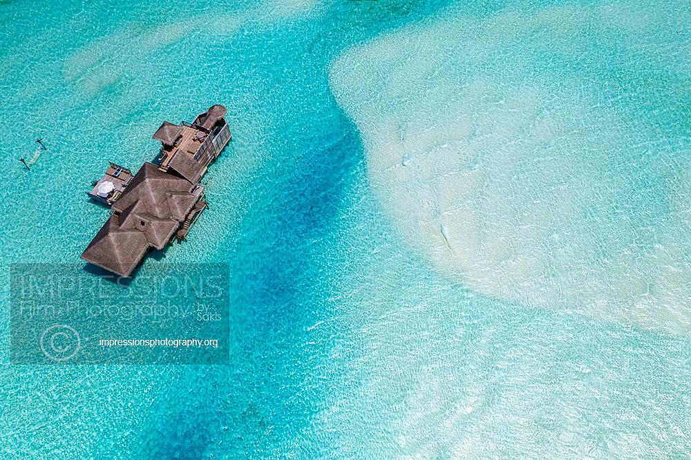 Photography luxury resort aerial photography gili lankanfushi maldives