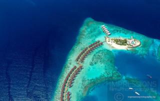 Resort Aerial Photography maldives