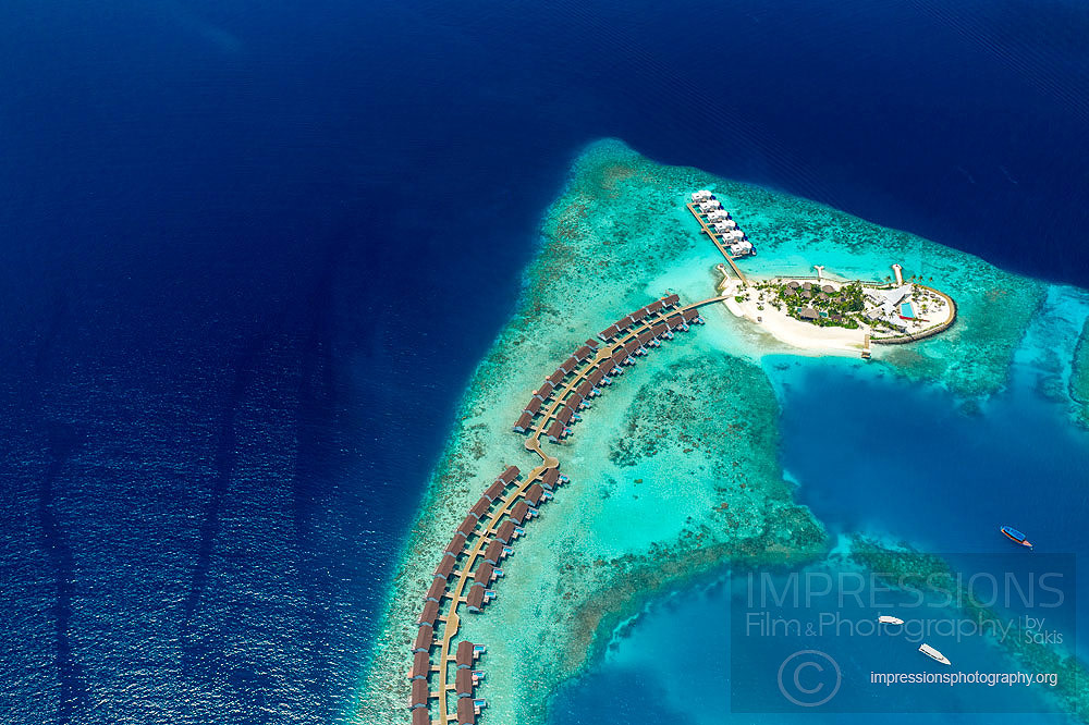 Resort Aerial Photography maldives