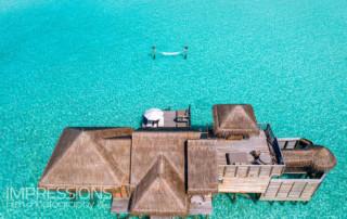 Resort aerial photography - Gili Lankanfushi Maldives