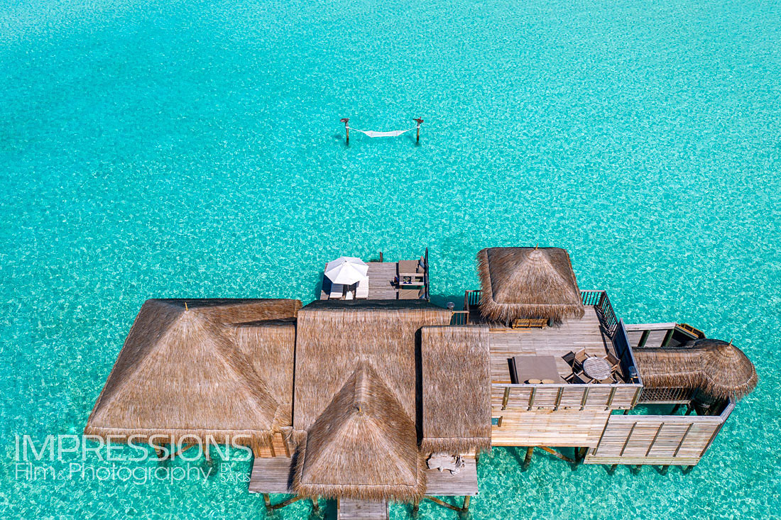 Resort aerial photography - Gili Lankanfushi Maldives