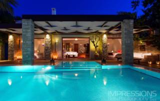 Villa photography greece