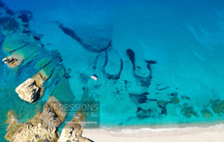 aerial drone photography greece