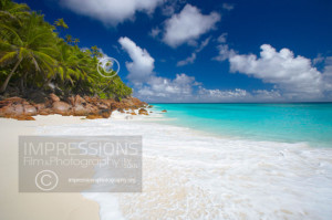 beautiful tropical beach seychelles
