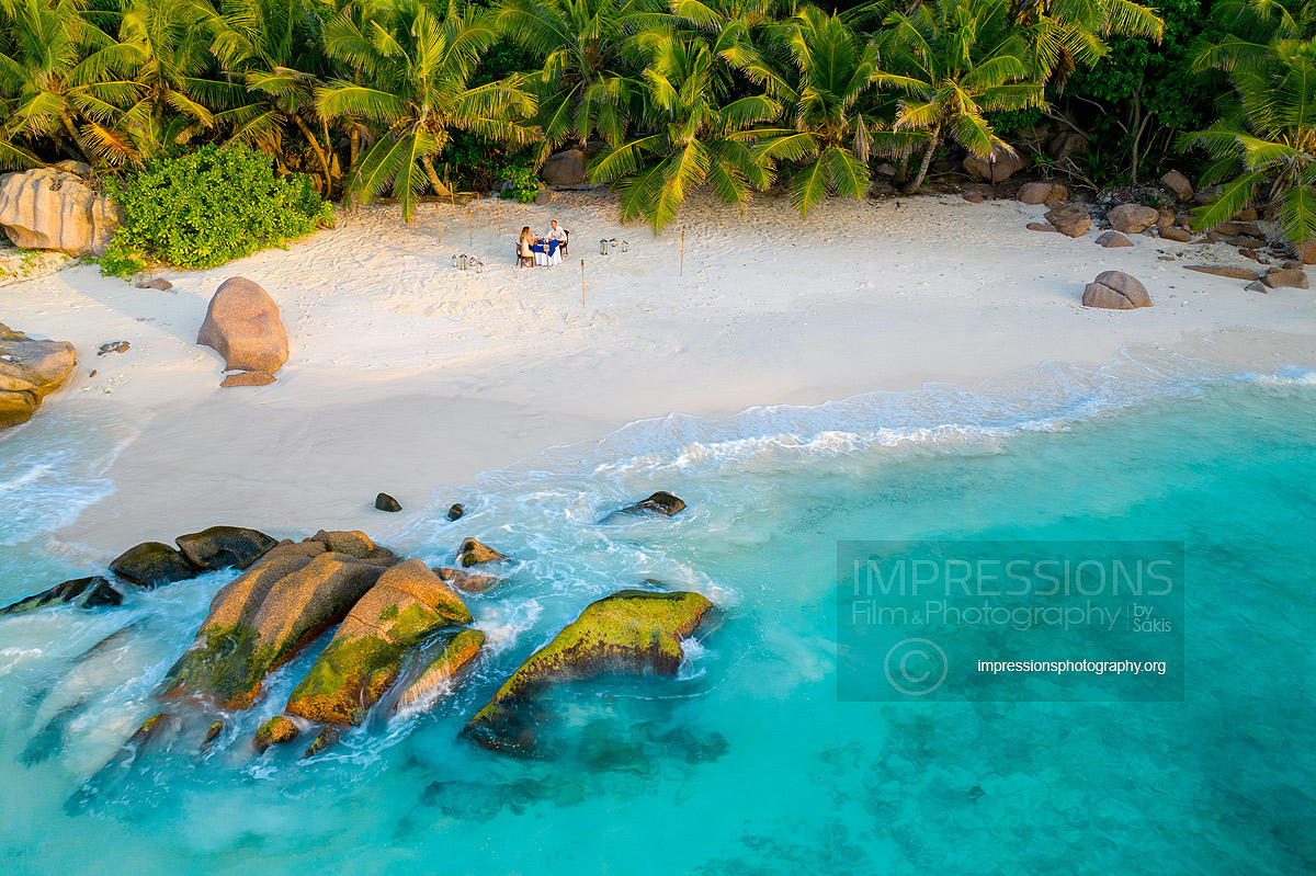 drone aerial photography and video seychelles