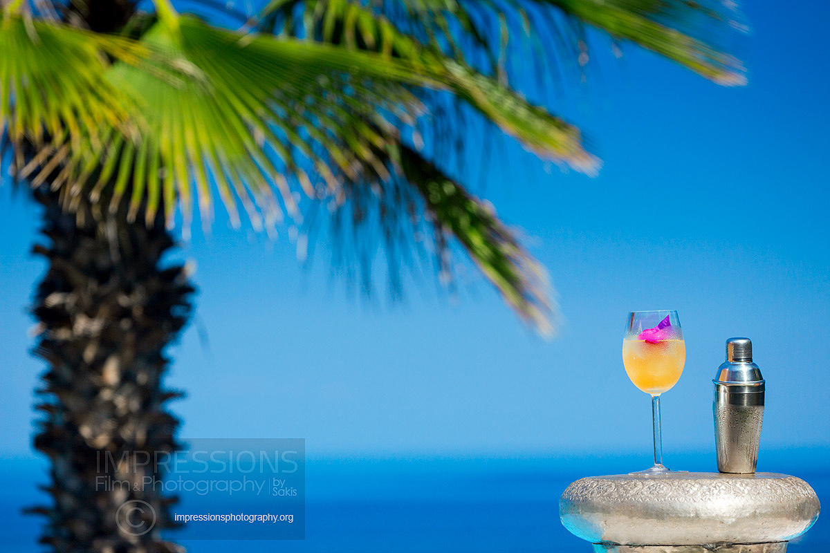 Food and Beverage photography for Luxury Hotels and Villas