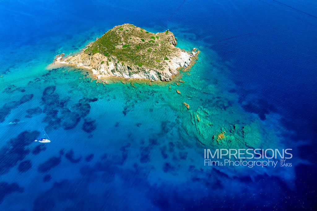 Greece aerial photography