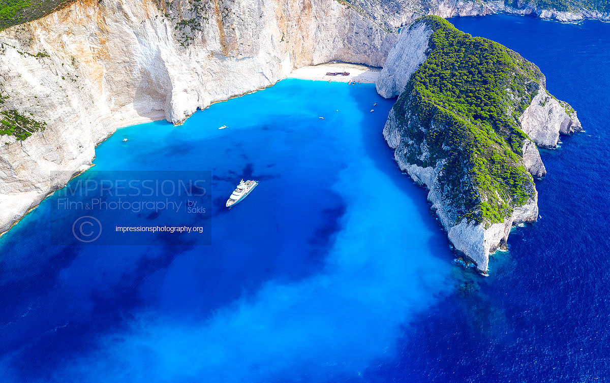 Aerial photography greece