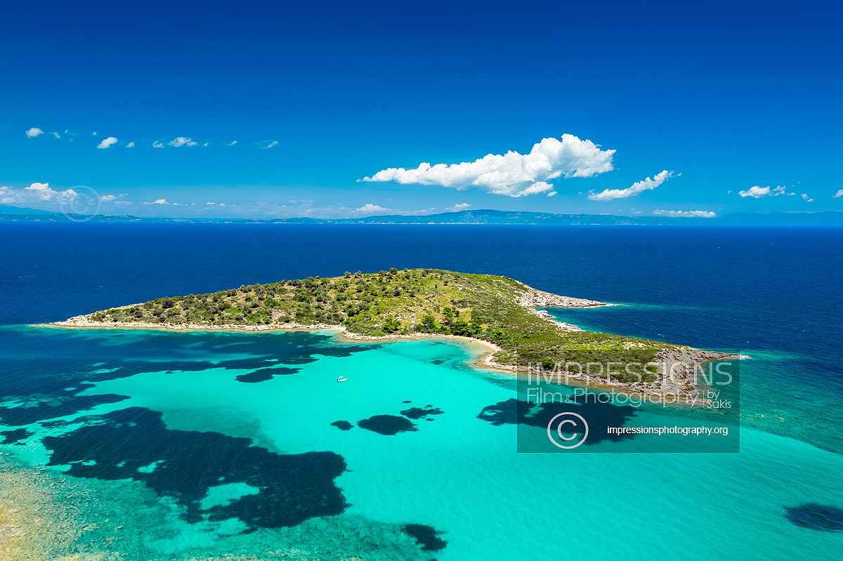 greece drone aerial photography