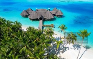 hotel and resort drone aerial photography