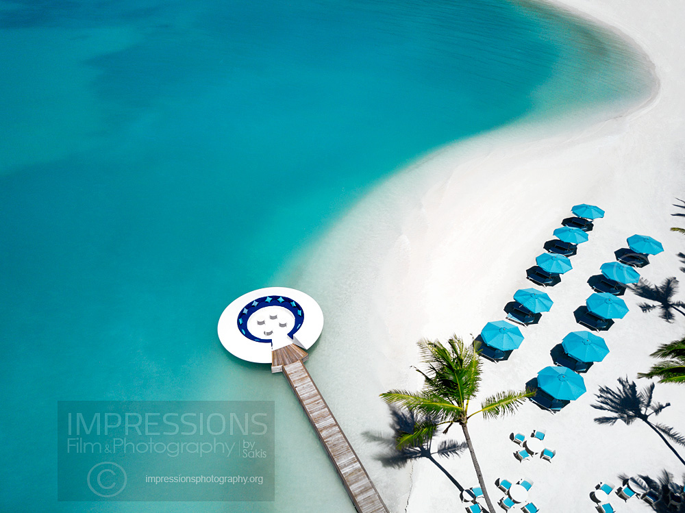 Hotel and Resort Aerial Photography, Kandima Maldives