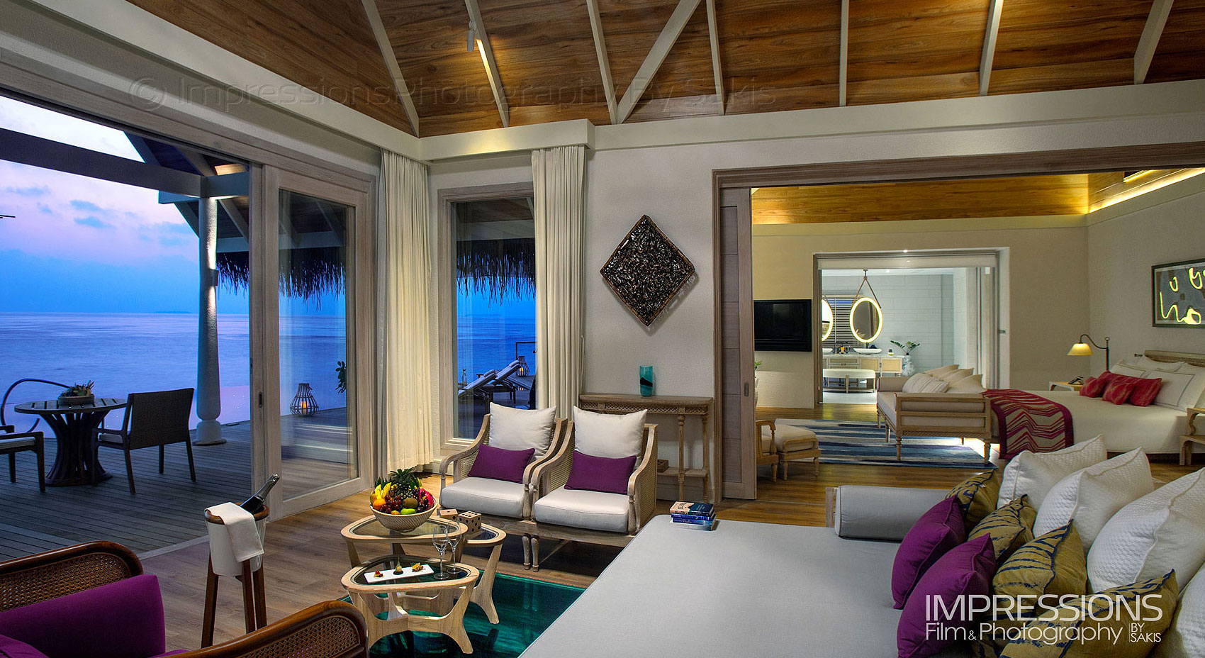 Interior Hotel Photography. Hotels Resorts Photography Luxury Villa  Photography