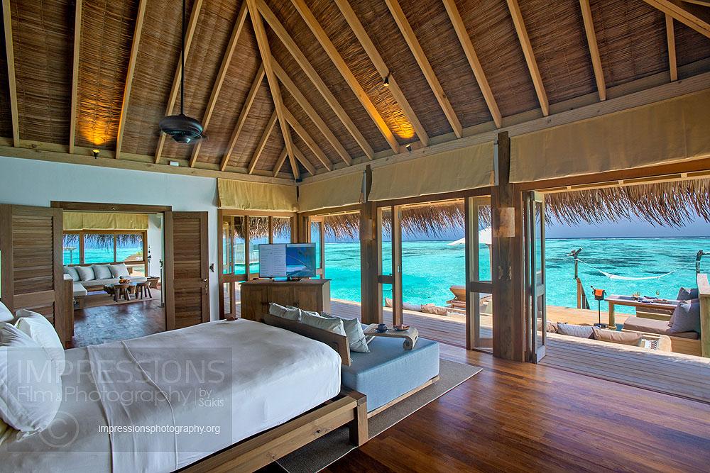 interior Photography gili lankanfushi maldives