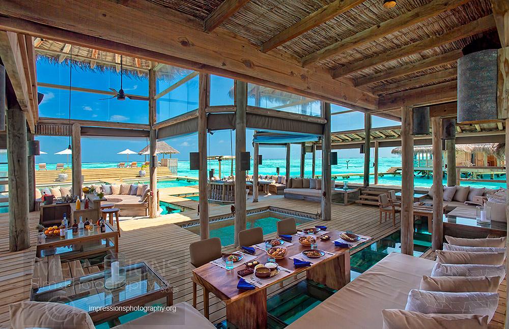 interior Photography luxury resort gili lankanfushi maldives