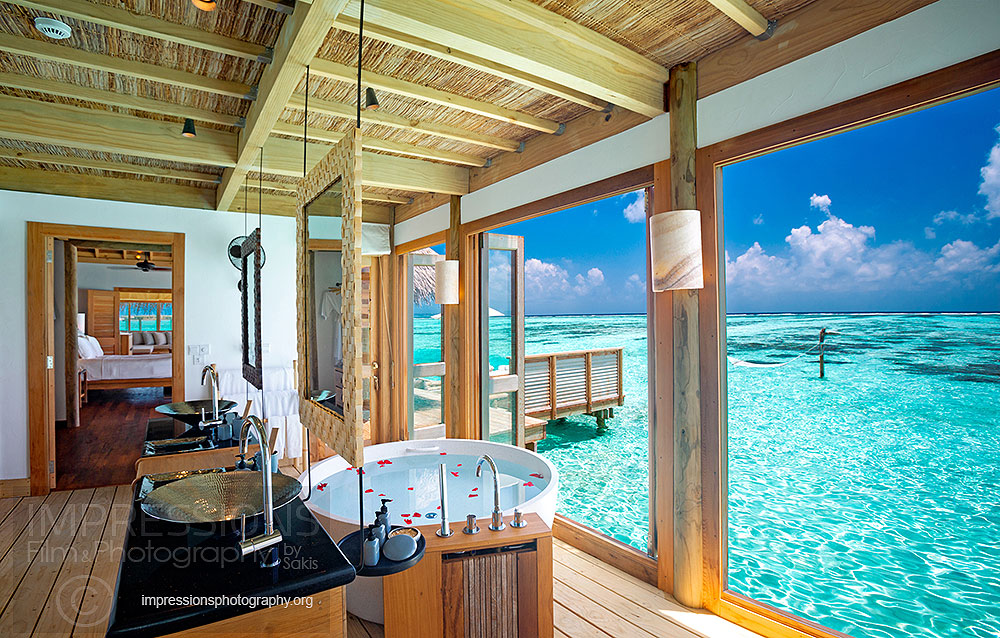 interior Photography resort gili lankanfushi maldives