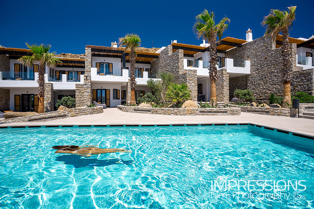 Mykonos hotel photography