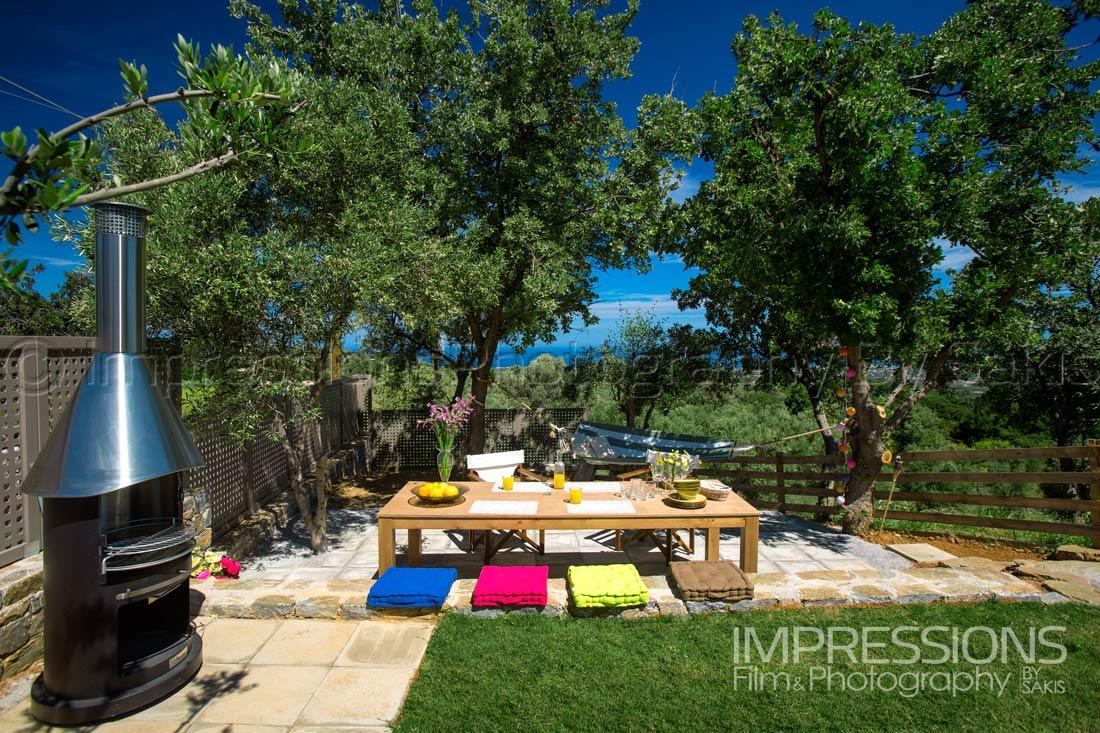Luxury Villa Photography Greece Crete Island