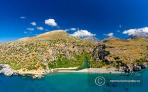 Preveli Beach ,rethymno, Crete island, Greece