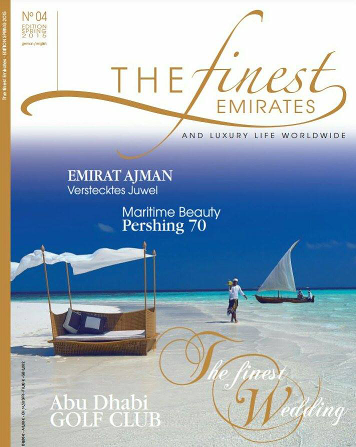 Cover The Finest Emirates magazine 2015